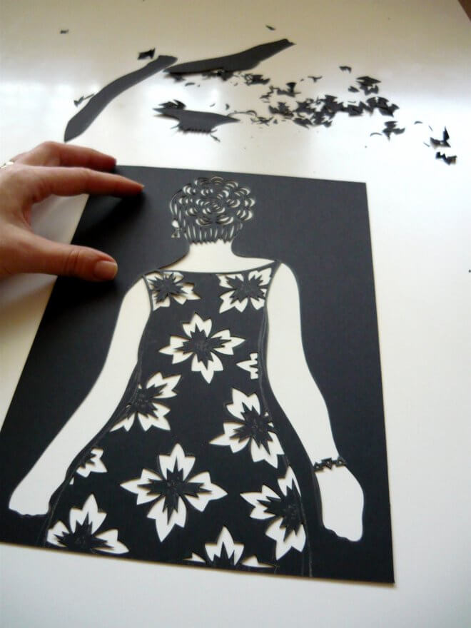 clothes-that-do-not-wear-paper-art-k4craft-Amazing Paper Art - Clothes that do not wear!!