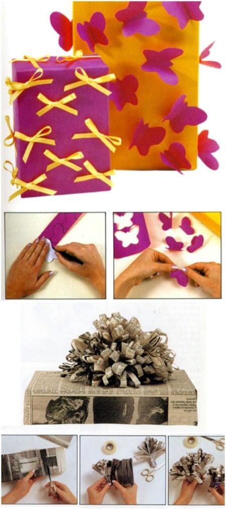 diy-creative-gift-wrapping-ideas-for-brithday Unique & Adorable Gift Wrapping Ideas