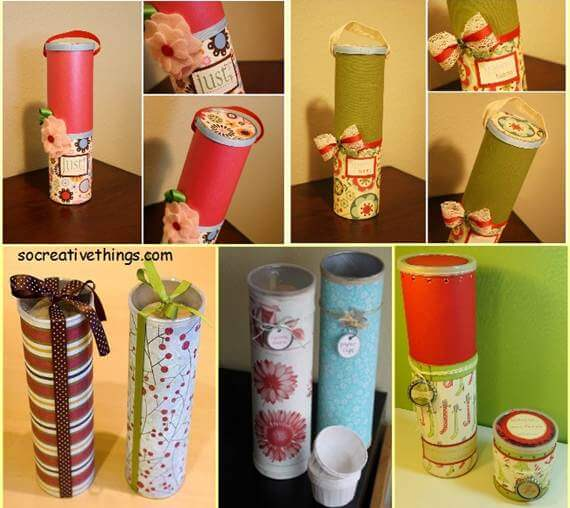 diy-creative-gift-wrapping-ideas-from-olf-Recyclable-Materials Unique & Adorable Gift Wrapping Ideas