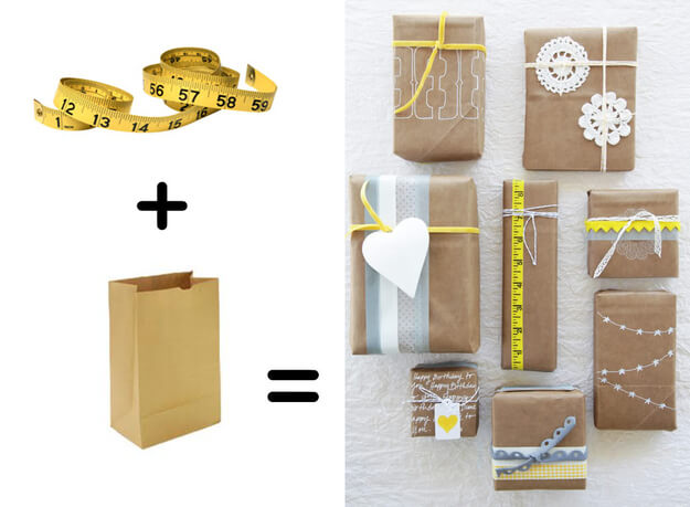 diy-gift-wrapping-packaging-tutorials Unique & Adorable Gift Wrapping Ideas