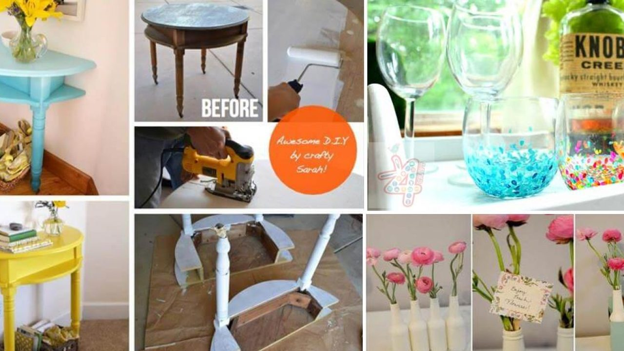 25 Cheap and Easy Home Decoration Ideas - Step by step • K25 Craft