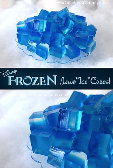 frozen-ice-jello FROZEN Kids Craft Activities & Tutorial