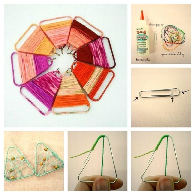 homemade-yarn-crafts-ideas-k4craft Awesome DIY Yarn Projects (Easy) - Step by step