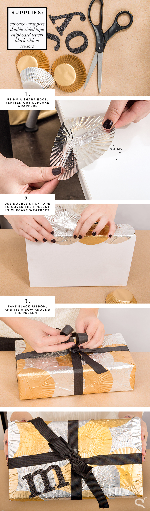how-to-wrap-a-gift-in-a-unique-creative-way Unique & Adorable Gift Wrapping Ideas