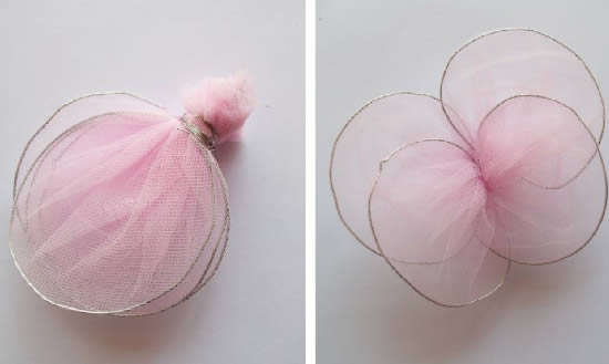 make-fabric-butterflies-using-wire-k4craft-How to make No-Sew Tulle Butterflies (Tutorial)