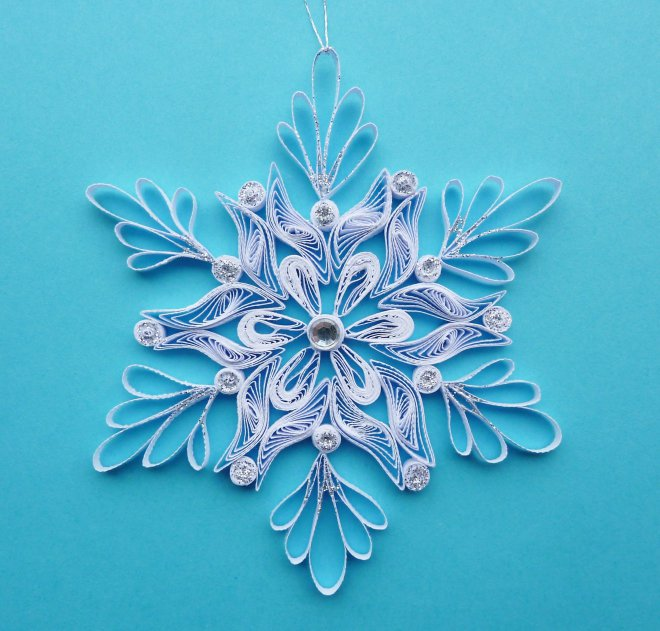 paper-quilling-Christmas-decorations-k4craft-Paper Quilling Ornaments for Christmas decoration