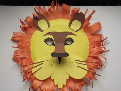 animal-mask-craft-for-kids-DIY Simple Animal face mask Craft Ideas for kids