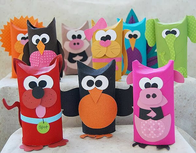 toilet-paper-roll-craft-ideas-Creative DIY Toilet Paper Roll Craft Ideas and Tutorials