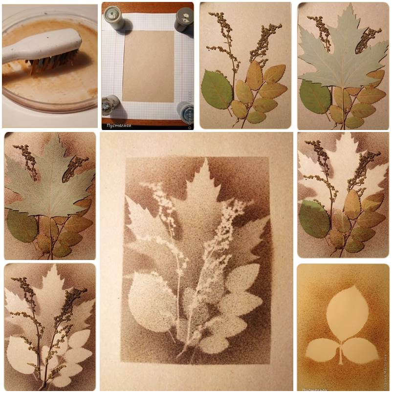 DIY Stunning Leaf Painting Using Toothbrush Affordable Home Improvement DIY Projects