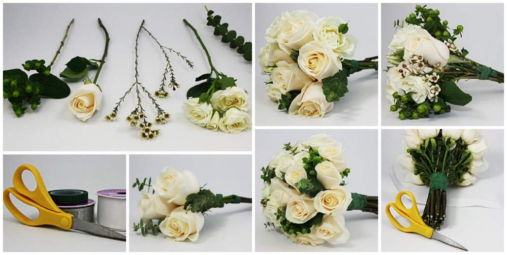 How to Assemble a Beautiful Bouquet How to make Flower Bouquet - Step by step Ideas