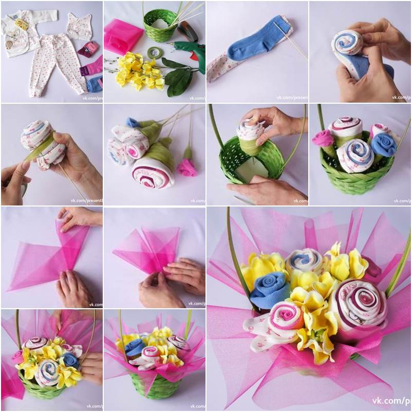 How To Make Flower Bouquet Step By Step Ideas K4 Craft