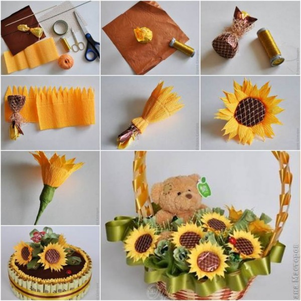 How to make chocolate flower bouquet for Mother's day How to make Flower Bouquet - Step by step Ideas
