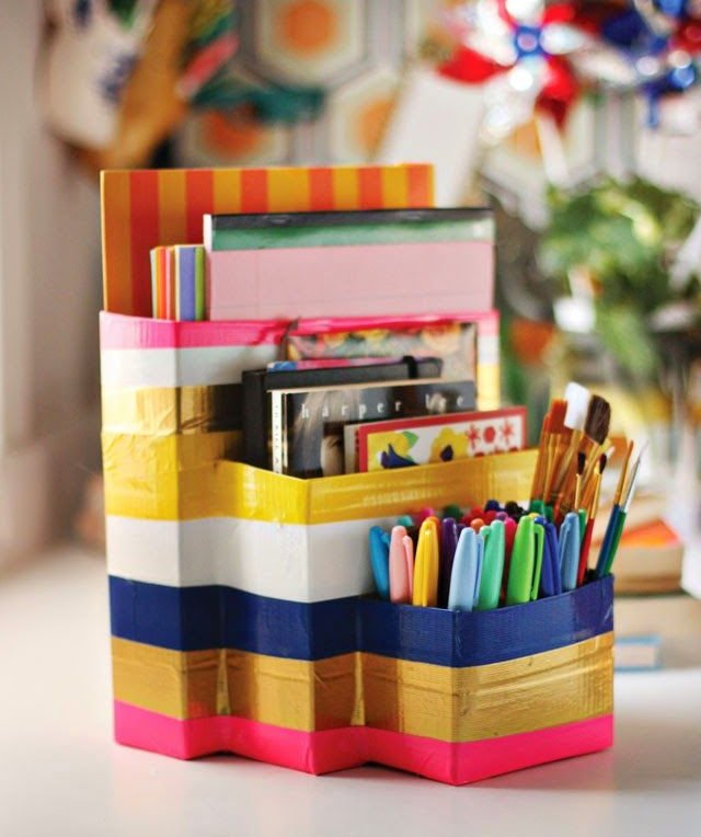 "DIY Empty Cartons ""Back to School"" Craft Tutorial"