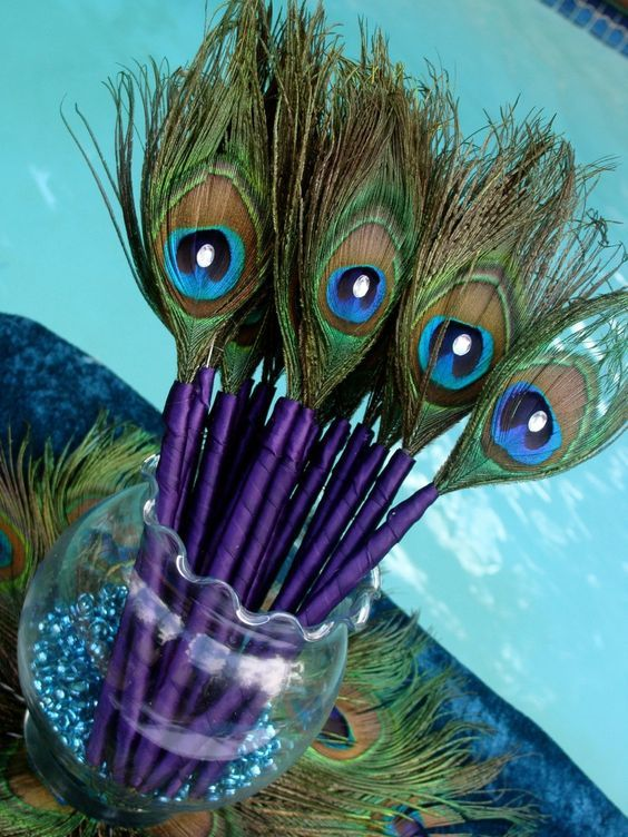 Create Peacock Feather Party favors  Dress up like Krishna on Krishna Janmashtami