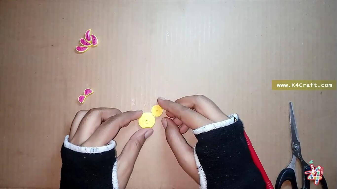Easy Quilling Teddy Bear Rakhi for Kids - Raksha Bandhan