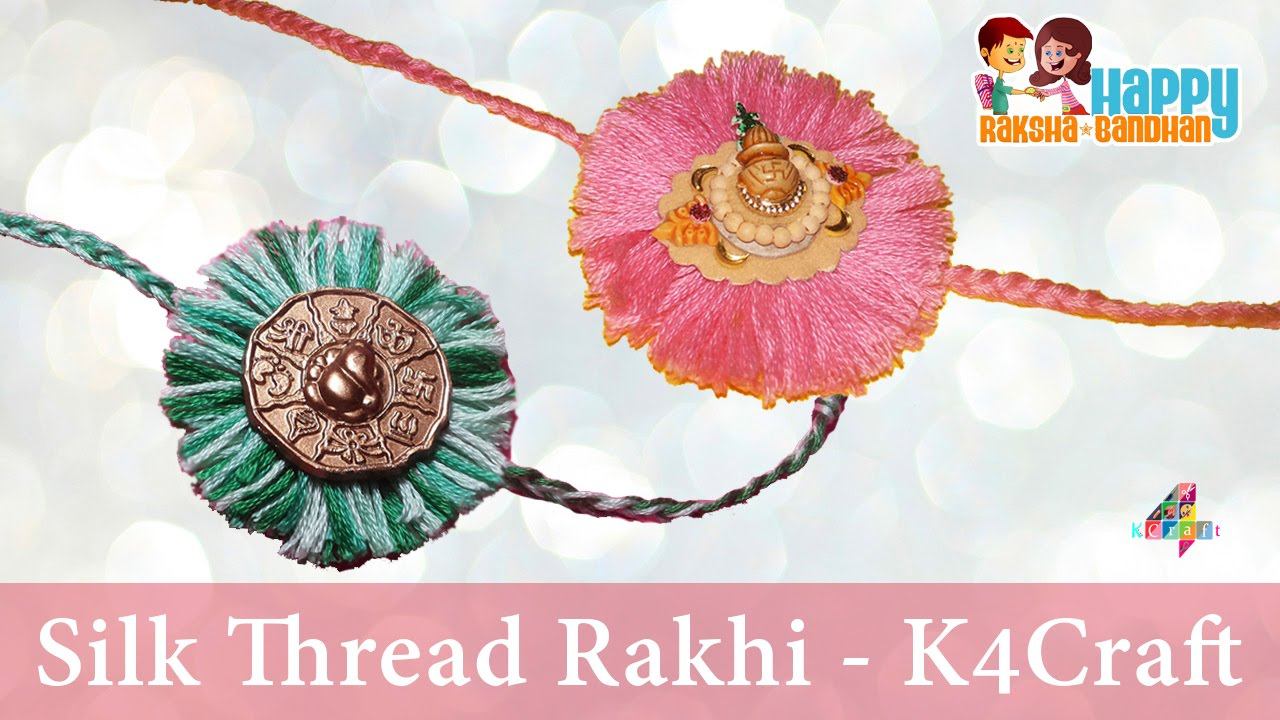 Best Handmade Rakhi ideas for Rakshabandhan