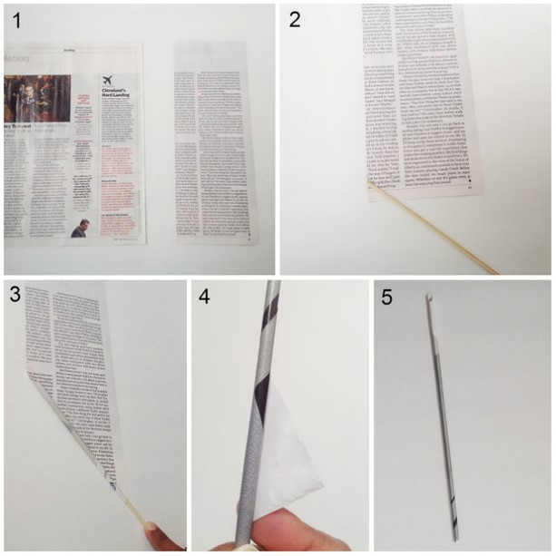 Rolling of Papers: How to make Gorgeous Pen Holder From Recycled Newspaper