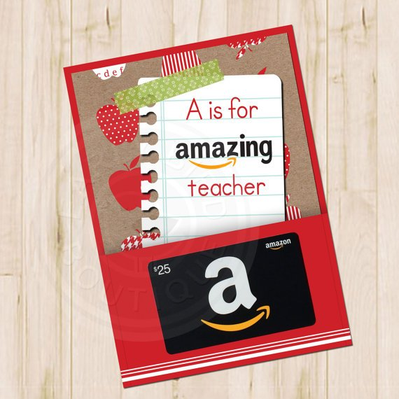 Amazing gift card holder Awesome Teachers' Day Gift Ideas with Thank You Cards