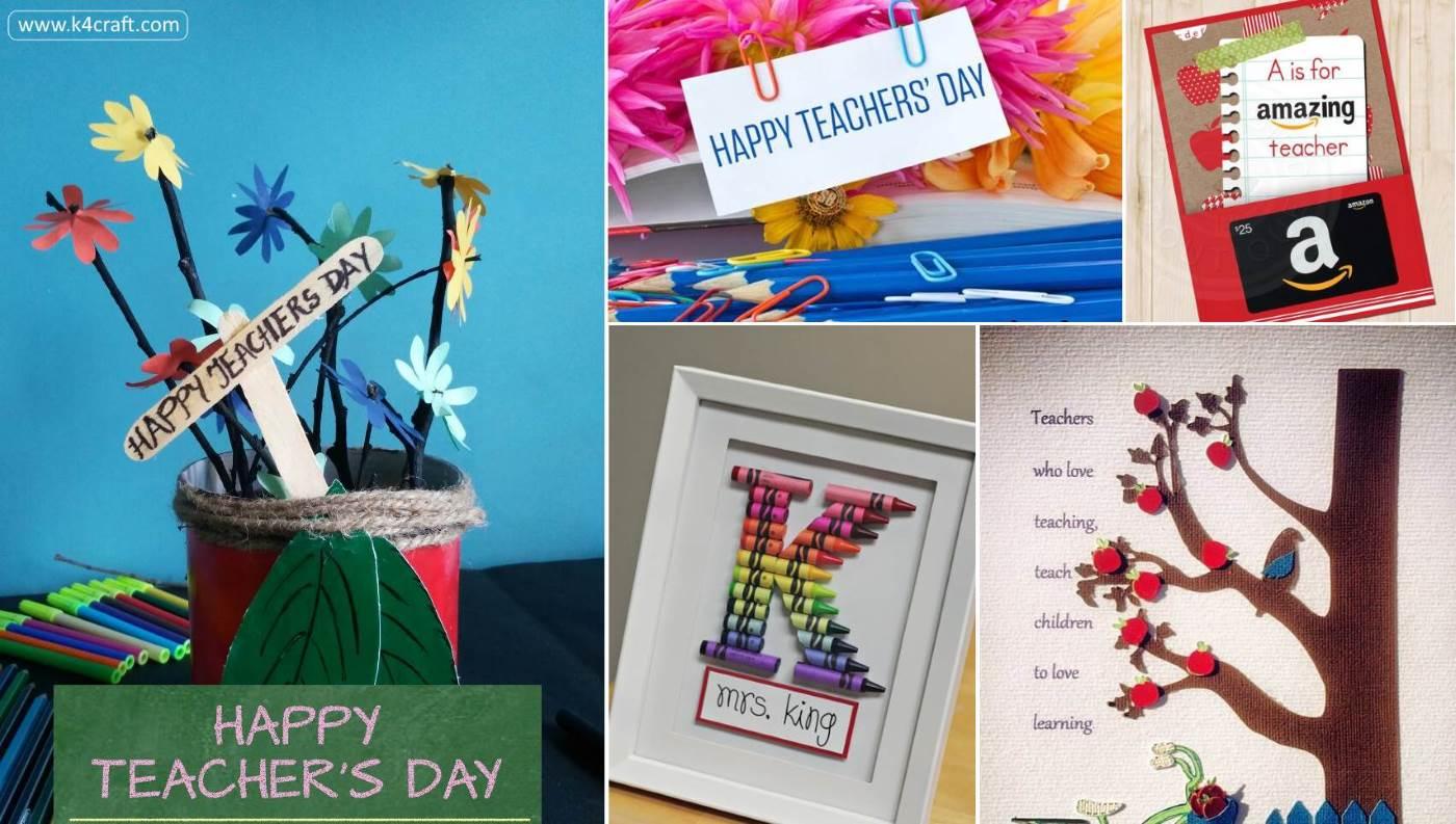 Ideas gift teachers diy day 45+ Diy