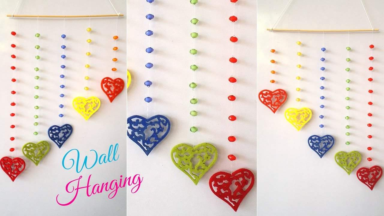 DIY Crafts: Wall Hanging for home Decoration DIY Easy Wall Hanging Craft Ideas & Tutorials