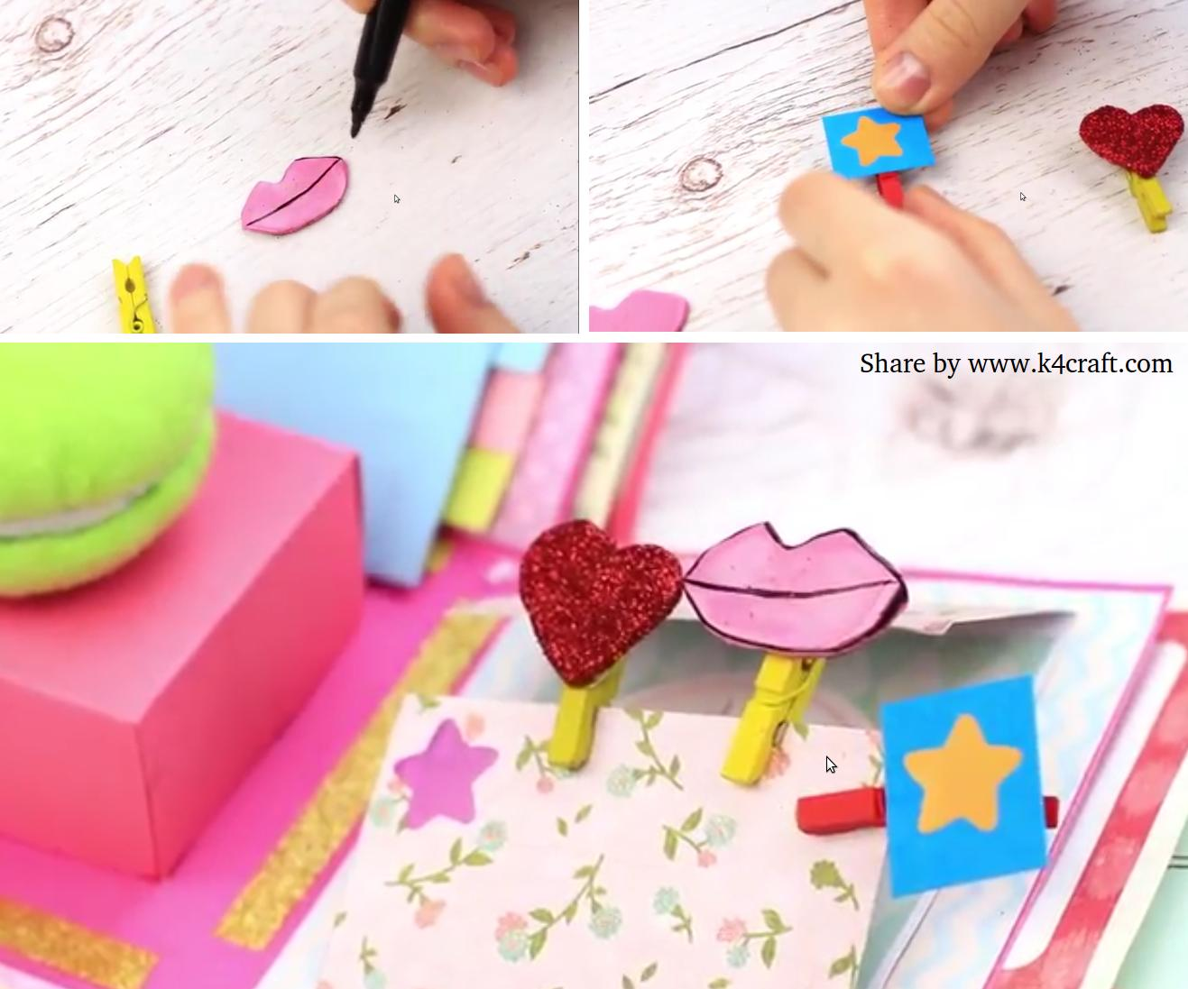 Exploding box step by step instructions