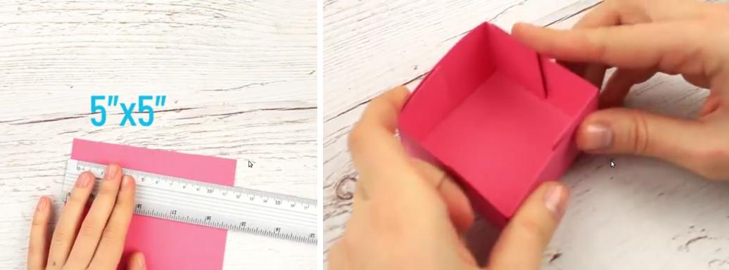 DIY Exploding Box for beginners - Step by step (Tutorial)
