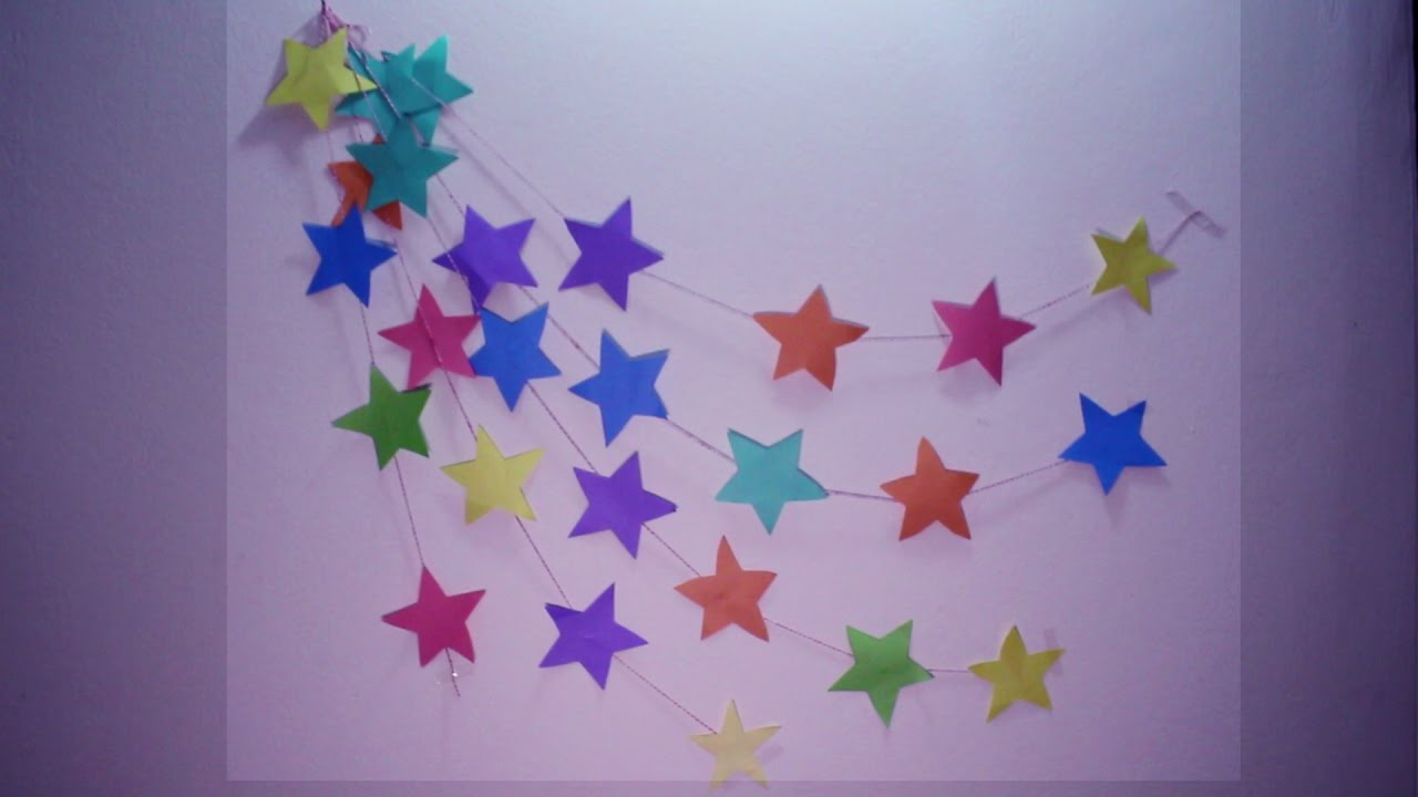 DIY : Wall Hanging Craft Ideas Using Colourful Paper DIY Easy Wall Hanging Craft Ideas & Tutorials