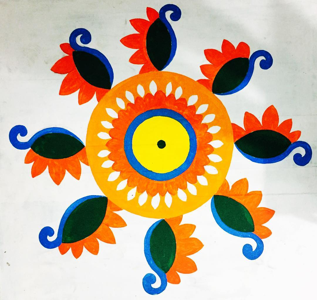 Beautiful Rangoli Designs for Diwali [2020]