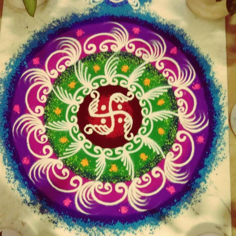 Beautiful Rangoli Designs for Diwali [2020]