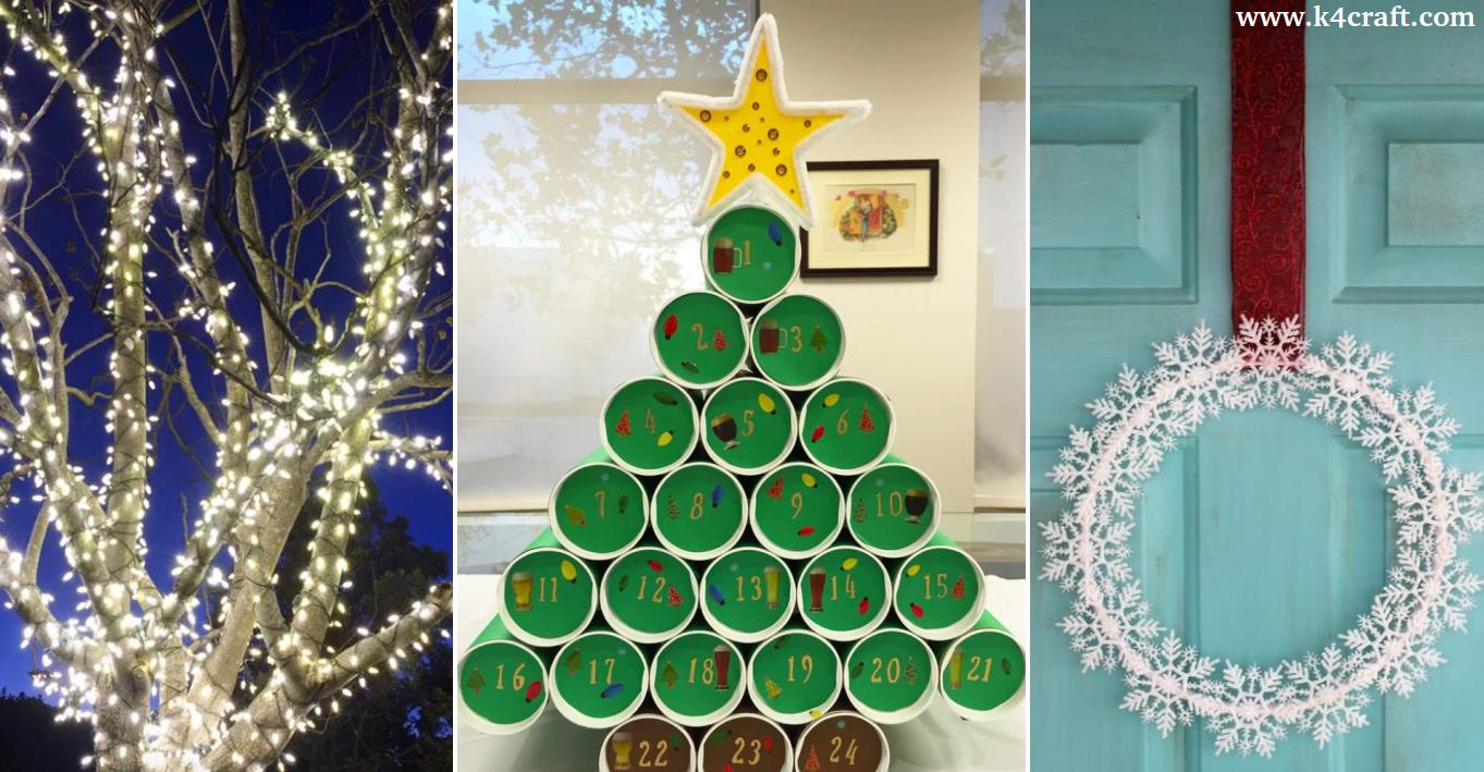 Christmas Decorations To Make Yourself.27 Low Cost Christmas Decorations You Can Make Yourself K4 Craft