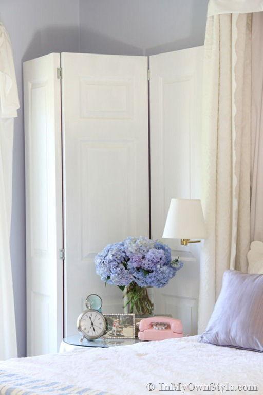 DIY Decorative Reversible Folding Screen  Easy to Make DIY Home Decorating Ideas