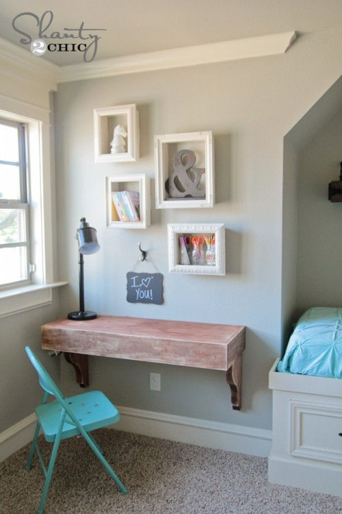 DIY Simple Frame Shelves Using Old Frame  Easy to Make DIY Home Decorating Ideas
