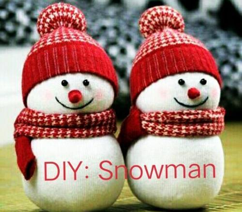 DIY: Snowman Craft tutorial