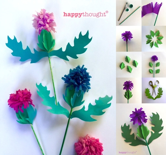 How To Make 10 Different Flower Craft Tutorials - Step by step