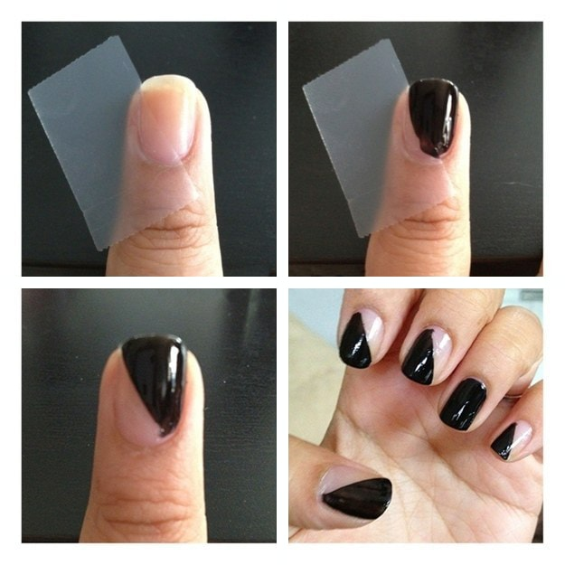 Simple Nail Art Designs for Lazy Girls - Step by step