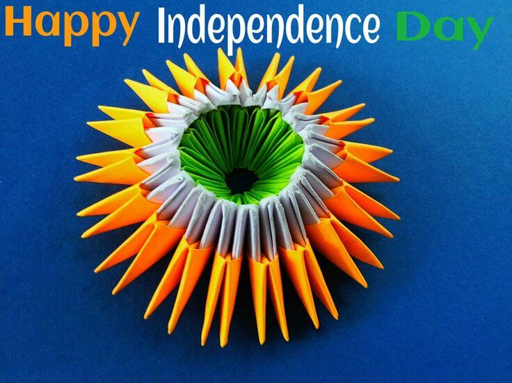 How to make Greeting Cards - Independence Day / Republic Day
