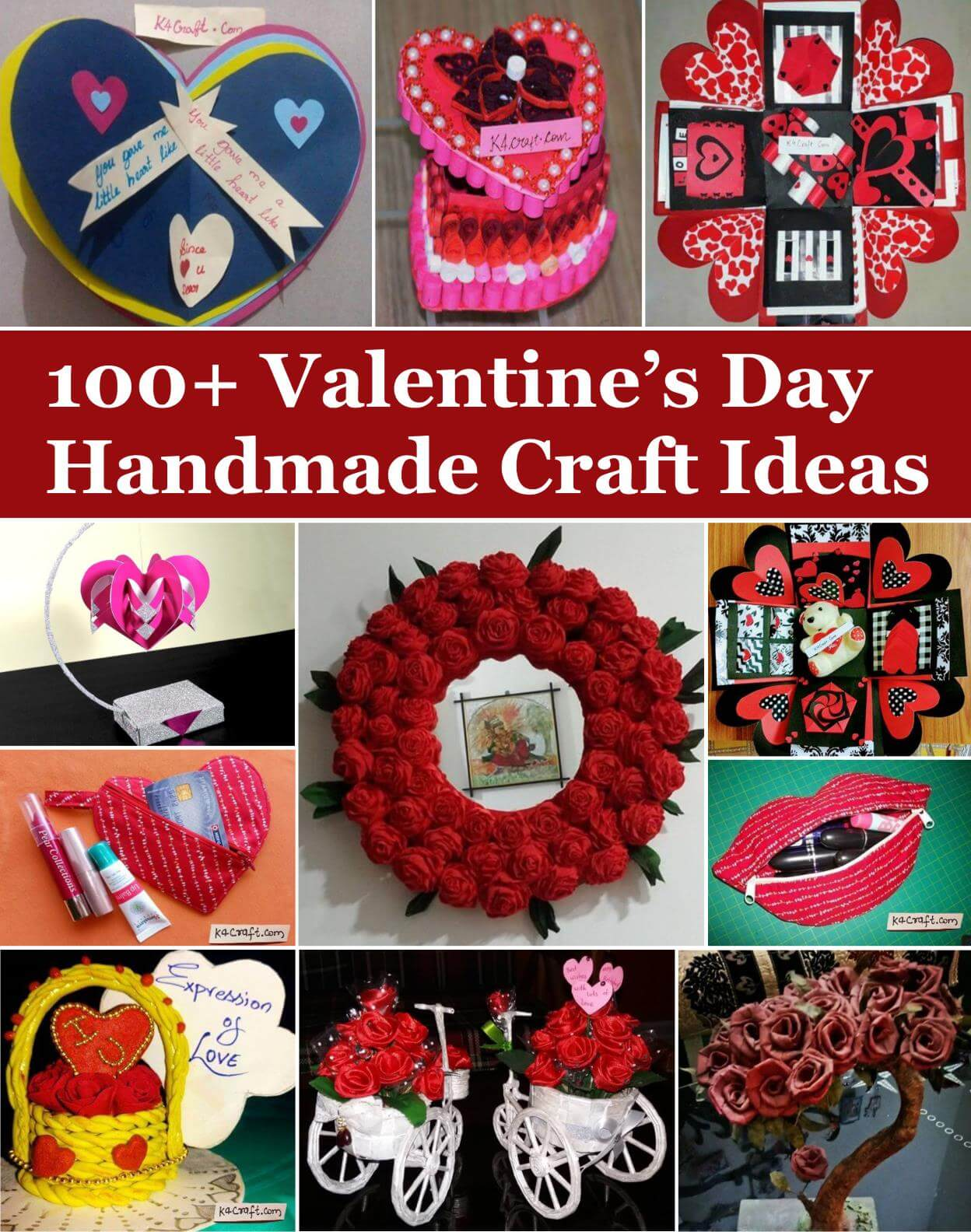 Valentine's Day Handmade Craft Ideas