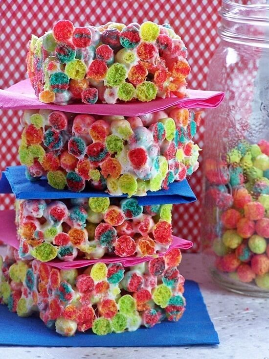 Trix Krispies Cool & Delicious Birthday Party Food Ideas for Kids