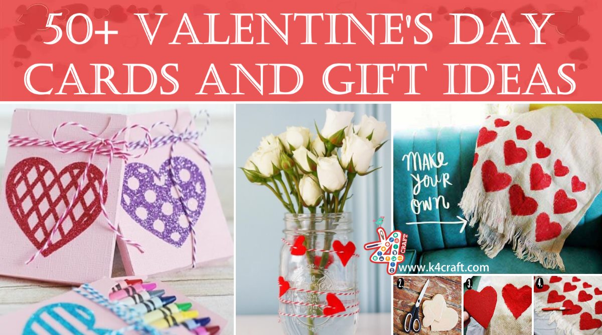 Valentine's Day Handmade Cards and Gift Ideas Valentine's Day Handmade Craft Ideas