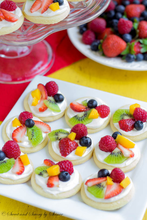 Mini Fruit Pizzas Cool & Delicious Birthday Party Food Ideas for Kids