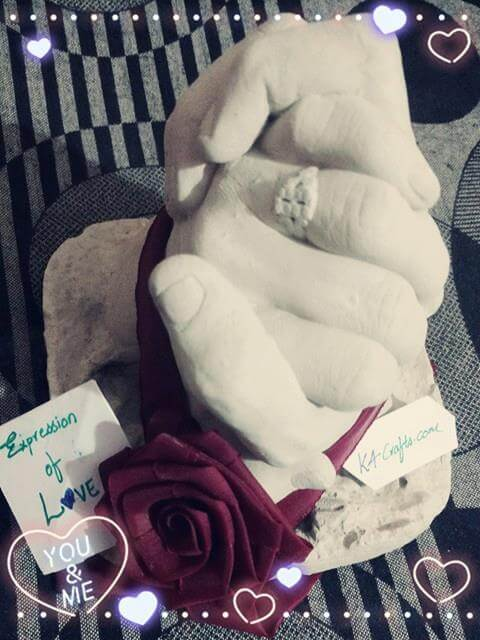 Expression of Love Sculpture Valentine's Day Handmade Craft Ideas