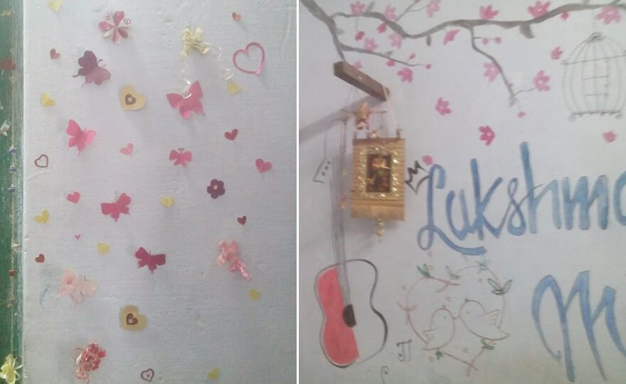 DIY Wall decoration Ideas Valentine's Day Handmade Craft Ideas