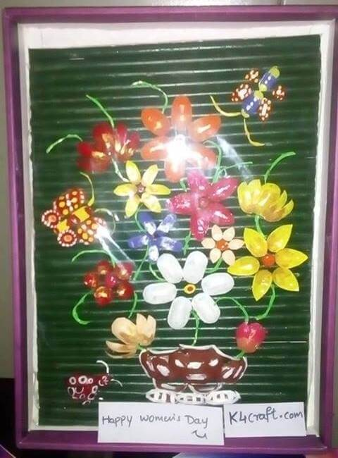 Floral Painting women's day Crafts