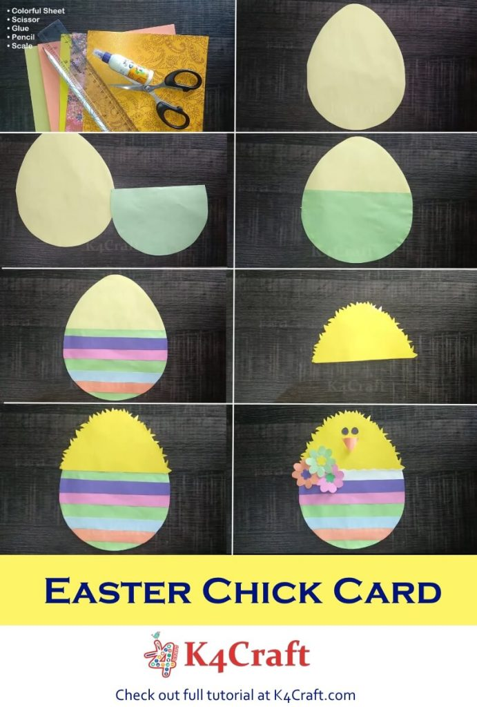 Easter Chick Card Tutorial : How to Make Easter Chick Card