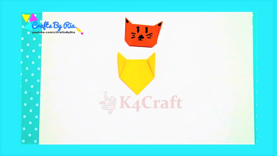 DIY Cat and Mouse Corner Bookmarks for kids