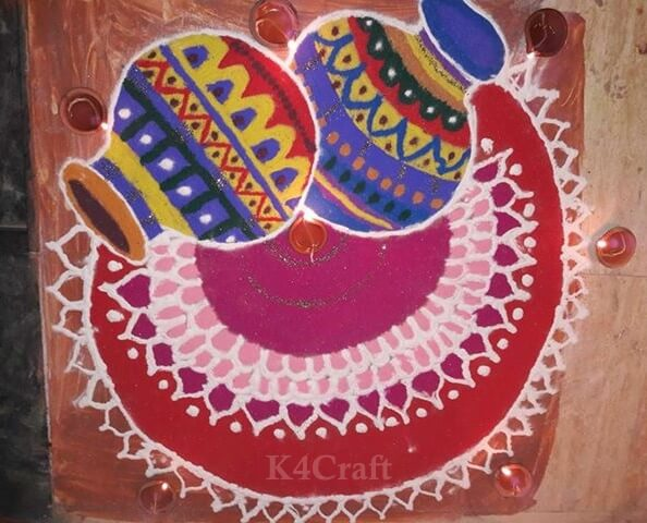 Pots Rangoli Design And Patterns For 2020