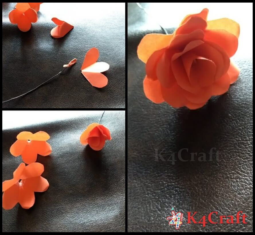 How To Make Paper Roses (Step by Step Tutorial)
