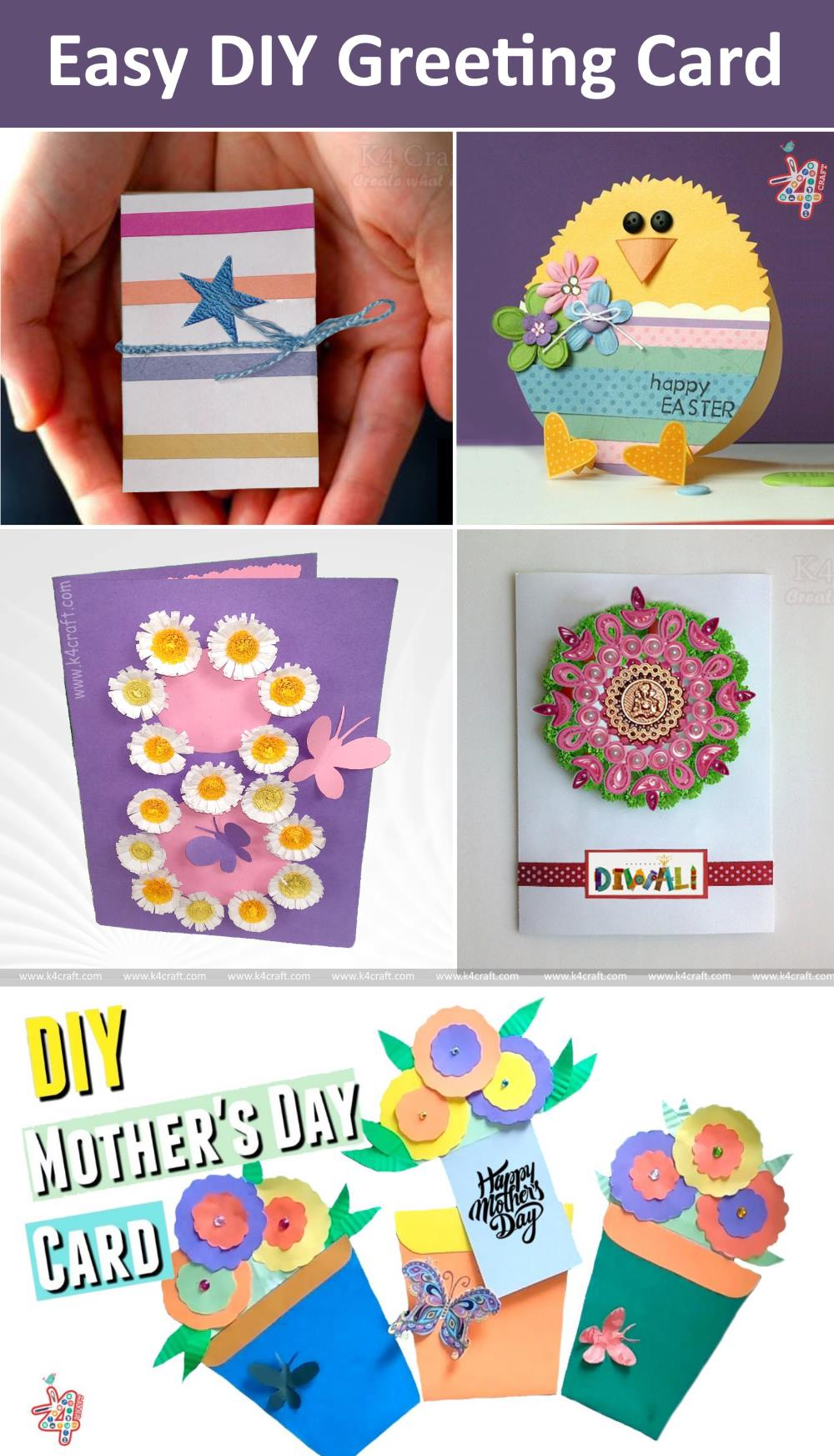 Creative & Easy Paper Crafts To Make Your Day Beautiful