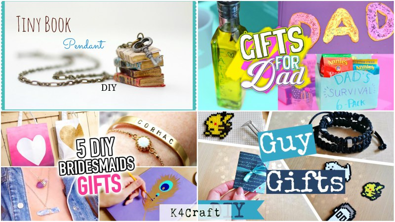 Handmade gifts for birthdays Birthday Party Craft Ideas