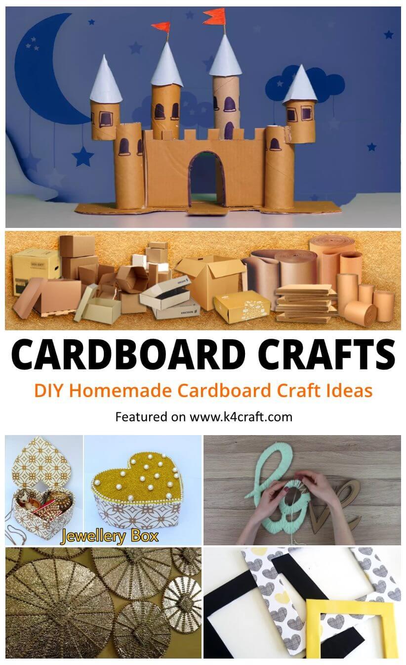 DIY Cool Homemade Cardboard Craft Ideas